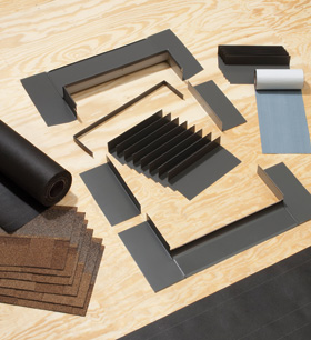 flashing kits velux accessiories and blinds velux skylights. Black Bedroom Furniture Sets. Home Design Ideas