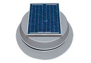 12 Watt Solar Attic Fan by Natural Light
