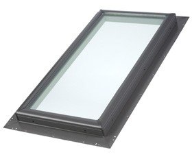 "QPF 2222 - VELUX Pan-flashed Skylight - 22 1/2"" x 22 1/2"""