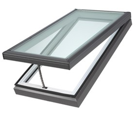 VCE 3030 - VELUX Electric Fresh Air Venting Curb Mount Skylight - 30 1/2&quot; x 30 1/2&quot;