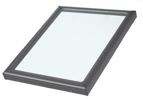 FCM 2222 - Velux Fixed Curb Mount Skylight - 22 1/2&quot; x 22 1/2&quot;