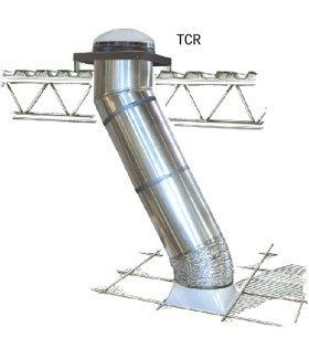 """TCR ZTR - 24"""" Extension For Velux Commercial Sun Tunnel Skylight"""