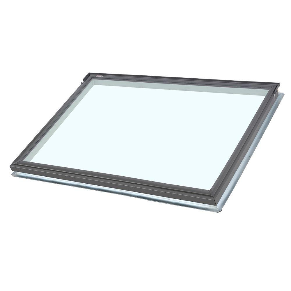 Fs s01 velux glass fixed skylight window for Velux glass