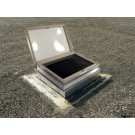 "CVA 4949 - Velux Commercial Roof Hatch Skylights - 46 1/2"" x 46 1/2"""