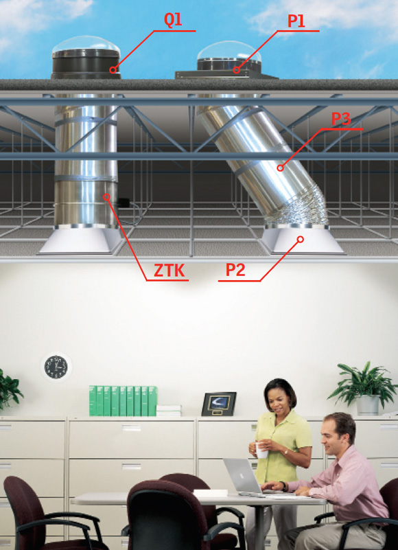 Tcr Velux Commercial Sun Tunnel