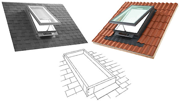 VCS - Solar Powered Curb Mount Fresh Air Skylights