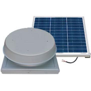 60 Watt Curb Mount Solar Attic Fan by Natural Light