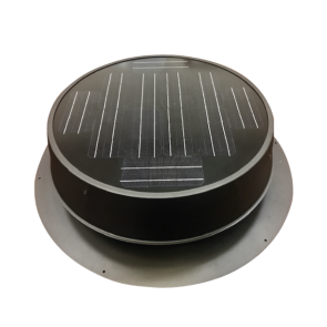 35 Watt Ultra Low Profile Solar Attic Fan - Natural Light