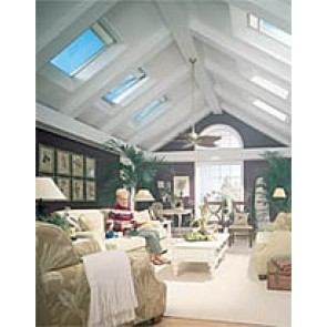 FS S06 - VELUX Fixed Deck Mount Skylight - 44 1/4