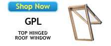 Velux GPL Top Hinged Roof Windows Available at SkylightGuys.com