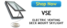 Velux VSE No Leak Deck Mounted Skylights Available at Best Skylights.com