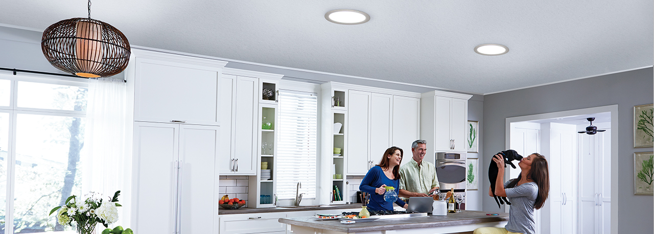 Velux Sun Tunnels in the Kitchen